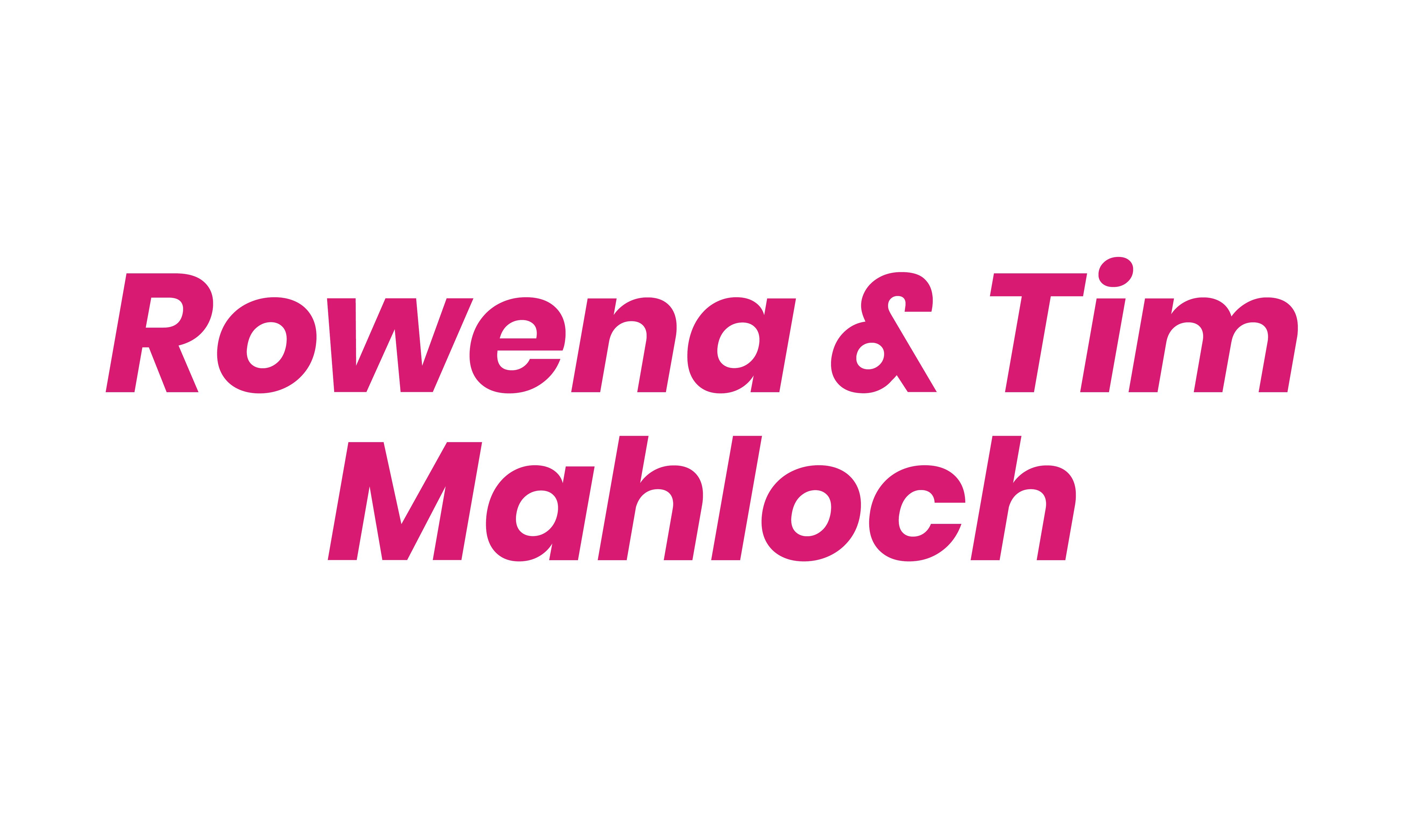 Rowena & Tim Mahloch